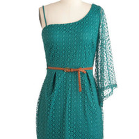 Teal Summer's End Dress | Mod Retro Vintage Dresses | ModCloth.com