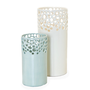 Lacey Cylinder Vases