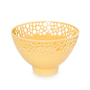 Coper Lacey Bowl in Yellow