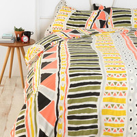 Urban Outfitters - Bauhaus Stripe Duvet Cover
