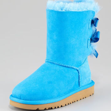 Bailey Bow-Back Boot, Blue Sky