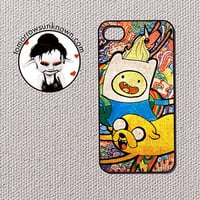Adventure Time Graffiti collage iPhone 4 and iPhone by CudageCase