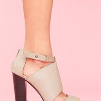 Paloma Cutout Platform in What&#x27;s New at Nasty Gal