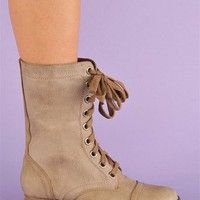 Corey Combat Boots - Ice