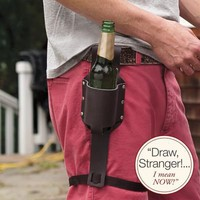personalizable beer holster