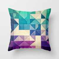 pyrply Throw Pillow by Spires | Society6