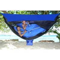 Amazon.com: Hammock Bliss Sky Tent 2 - A Revolutionary Tent For 1 or 2 Hammocks Off The Ground - Stay Dry From The Rain, Safe From The Bugs With Ample Space For You And Your Gear!: Sports & Outdoors