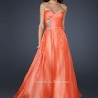 La Femme Dress 17558 at Peaches Boutique