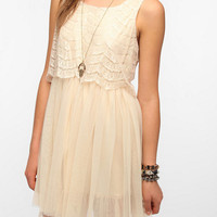 Urban Outfitters - Band of Gypsies Lace &amp; Tulle Dress