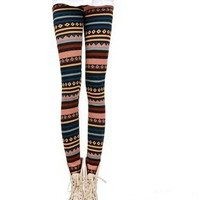 fashion stripe thickened leggings 4 colors from Fashion Accessories Store