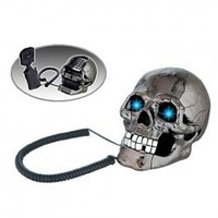 Newfangled Telephone Set with Skull Shape for Daily Use AR-5053 China Wholesale - Everbuying.com