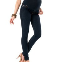 Amazon.com: A Pea in the Pod Collection: 7 For All Mankind Secret Fit Belly(r) Signature Pocket Maternity Jeans: Clothing