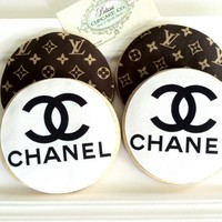 Cookies Chanel & Louis Vuitton Insp.. on Luulla