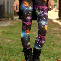 Galaxy Leggings - XS, S, M, L