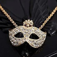 Masquerade Mask Necklace