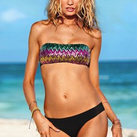 Sequin Bandeau Top - Beach Sexy - Victoria's Secret