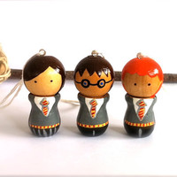 Harry Potter Christmas Tree Ornaments Set by CreativeButterflyXOX