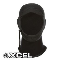 Xcel Billed 2mm Wetsuit Hood - Black