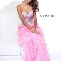 Sherri Hill 8508 at Prom Dress Shop