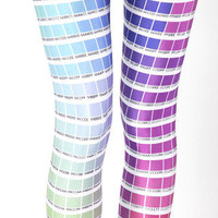 Hex Colour Leggings - LIMITED | Black Milk Clothing