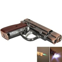 Stylish Pistol Shape Cigarette Lighter Copper: Amazon.com: Kitchen &amp; Dining