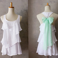 PREORDER // SEASIDE AURA  Romantic white flowy by FleetCollection