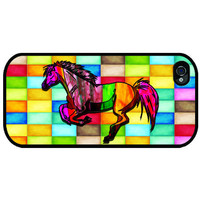 iPhone 4, iPhone 4s - Running Horse - iphone 5 cases - Case