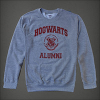 Hogwarts Alumni Geek Tshirt Men Men's Boy's Grey by blesseldesigns