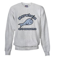 Amazon.com: Narwhals Are Awesome Cute Sweatshirt by CafePress: Clothing