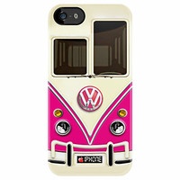Pink Volkswagen VW with chrome logo iphone 4 4s, iPhone 3Gs, iPod Touch 4g case by Pointsale Project
