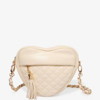 Quilted Heart Shoulder Bag | FOREVER 21 - 1027705437