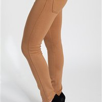 Camel Skinny Jeggings