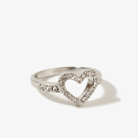 Cutout Heart Ring | FOREVER 21 - 1015565827