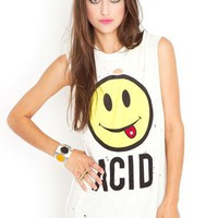 Good Trip Muscle Tee in  Sale Tops at Nasty Gal