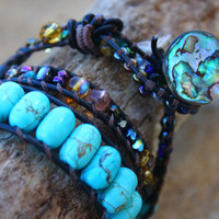 Custom Made Wrap Bracelet