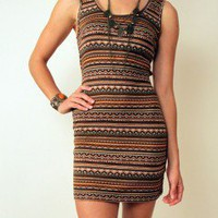 Mayan Harvest Dress at Nectar Clothing