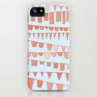 Festive Bunting iPhone Case by Anita Ivancenko | Society6