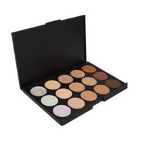 Amazon.com: Professional 15 Color Concealer Camouflage Makeup Palette: Beauty