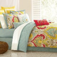 Amazon.com: Echo Jaipur Queen Comforter Set: Home & Kitchen