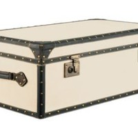 One Kings Lane - Furniture & More - Barreveld Vintage Canvas Trunk