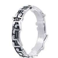 Amazon.com: Sterling Silver 5mm Musical Notes Band Ring Size 5, 6, 7, 8, 9: Jewelry