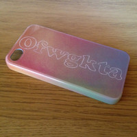 Ofwgkta Odd Future Hand Crafted Custom iPhone 4 - 4s Case/Cover
