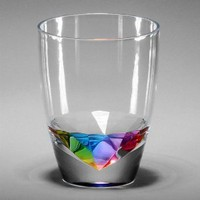Merritt Rainbow Diamond Drinkware, Type: Tumbler 14oz: Amazon.com: Kitchen & Dining