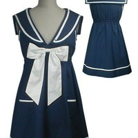 Sailor Annie Tunic Dress or Top by getgoretro on Sense of Fashion