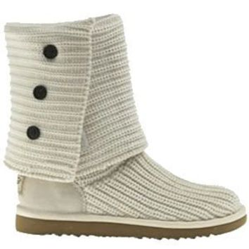 UGG Classic Cardy 5819-Cream Outlet UK