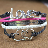 kamaLOVE bracelet heart to heart bracelet belief and by itouchsoul