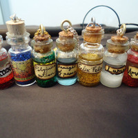 Harry Potter Inspired Potion Bottle Necklace by shelbyisaac