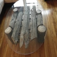 Brooklyn&#x27;s Authentic Driftwood Table by greeshulik on Etsy