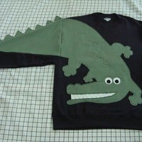 See You Later Alligator sweatshirt unisex by CreativeCallipipper