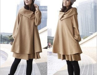 New Korean loose cloak was thin wool coat coat winter by msichen3